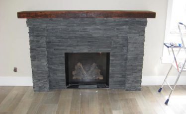 custom fireplace mantle vancouver