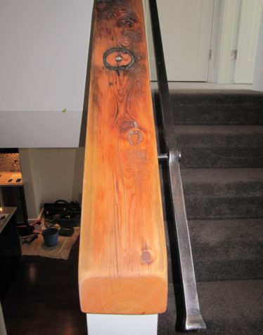 custom stairway wood caps vancouver